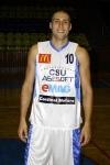 Cătălin Burlacu a păstrat intacte şansele de calificare ale Asesoftului Foto: www.csuasesoft.ro