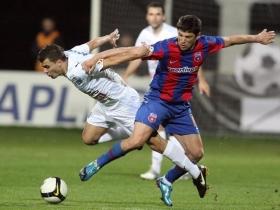 Gloria Bistriţa - Steaua, un meci cu scântei în ultimii ani Foto Romania Liberă