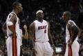 Chris Bosh, LeBron James si Dwyane Wade