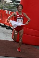 shinji Nakadai, victorie în patria magoţilor